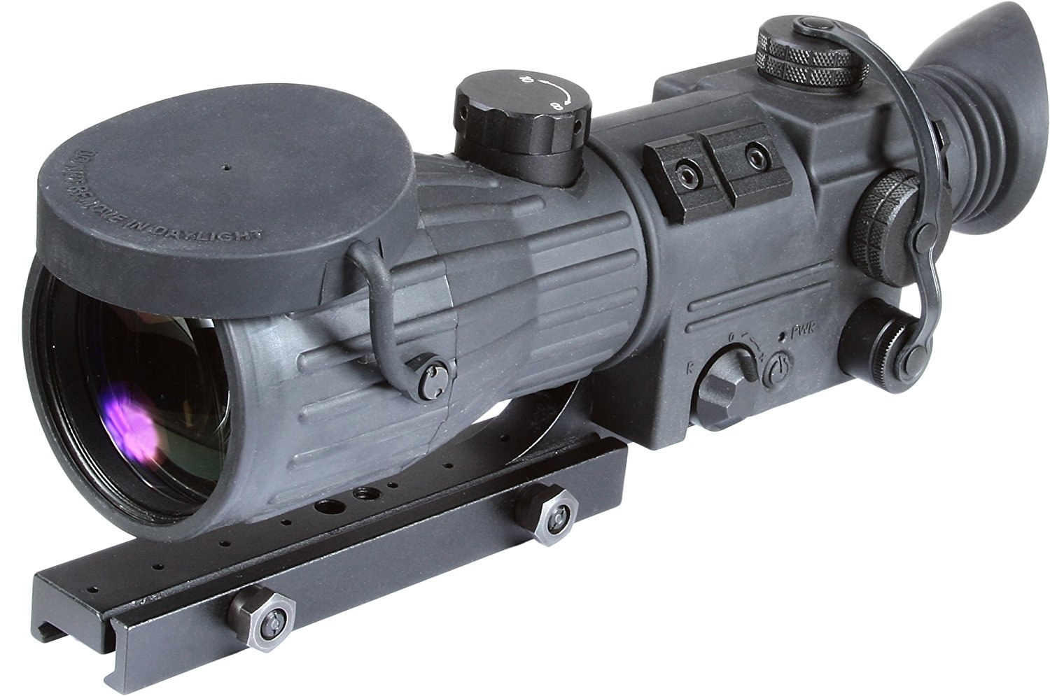 Armasight Orion 5x Gen 1+ Night Vision Rifle Scope Front View