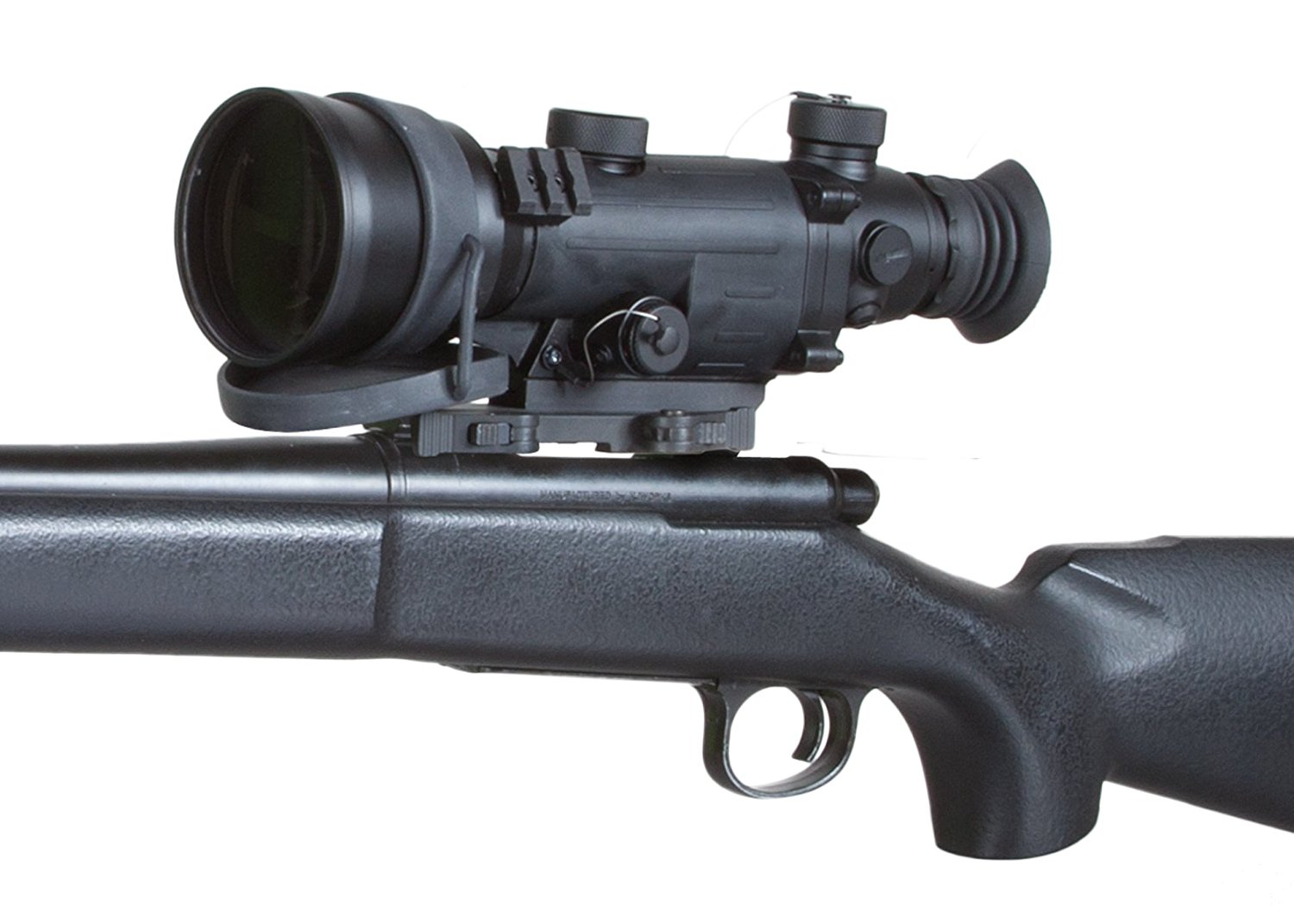 Armasight Vampire 3x CORE IIT Night Vision Rifle Scope Mounted