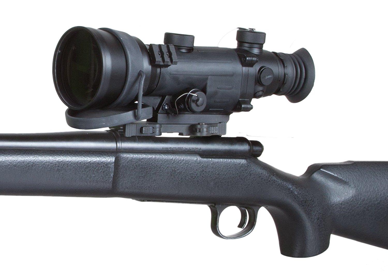 Armasight Vampire 3x CORE IIT Night Vision Rifle Scope Mounted