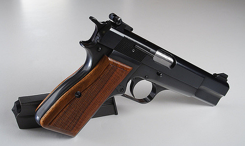 Browning Hi Power 9mm Firearm