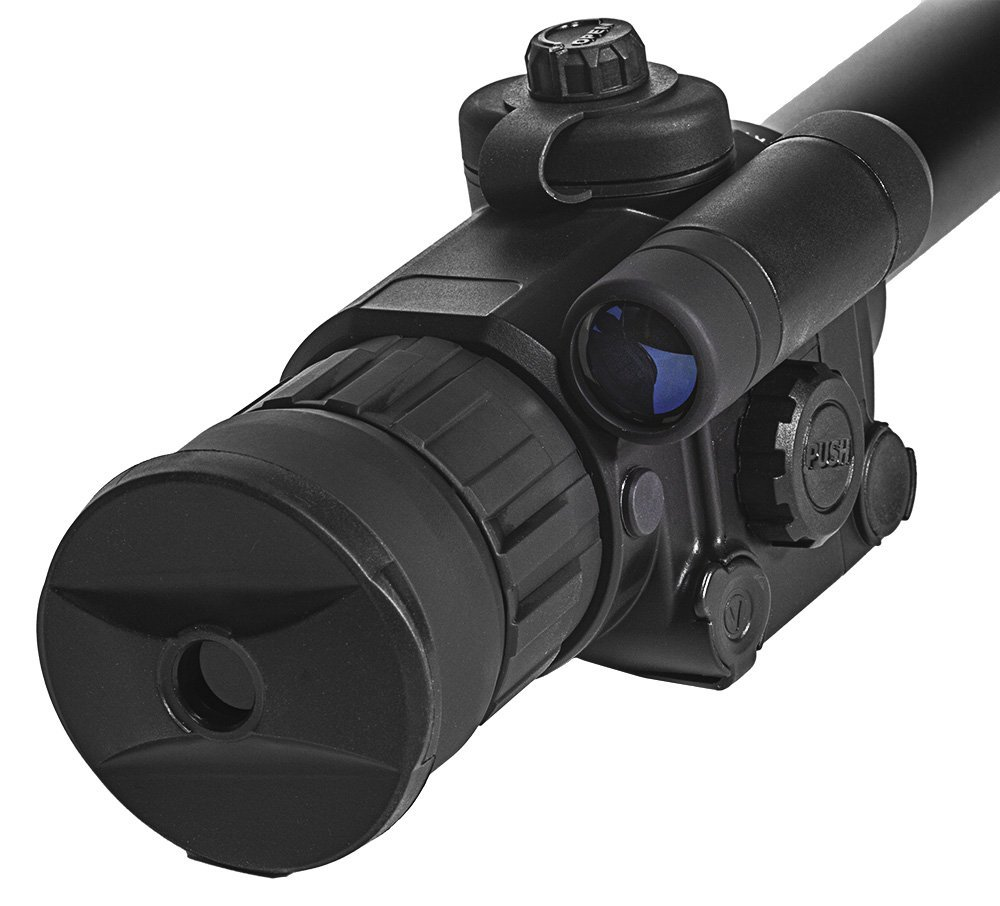 Sightmark Photon XT 4.6x42S Digital Night Vision Rifle Scope Close Up Back