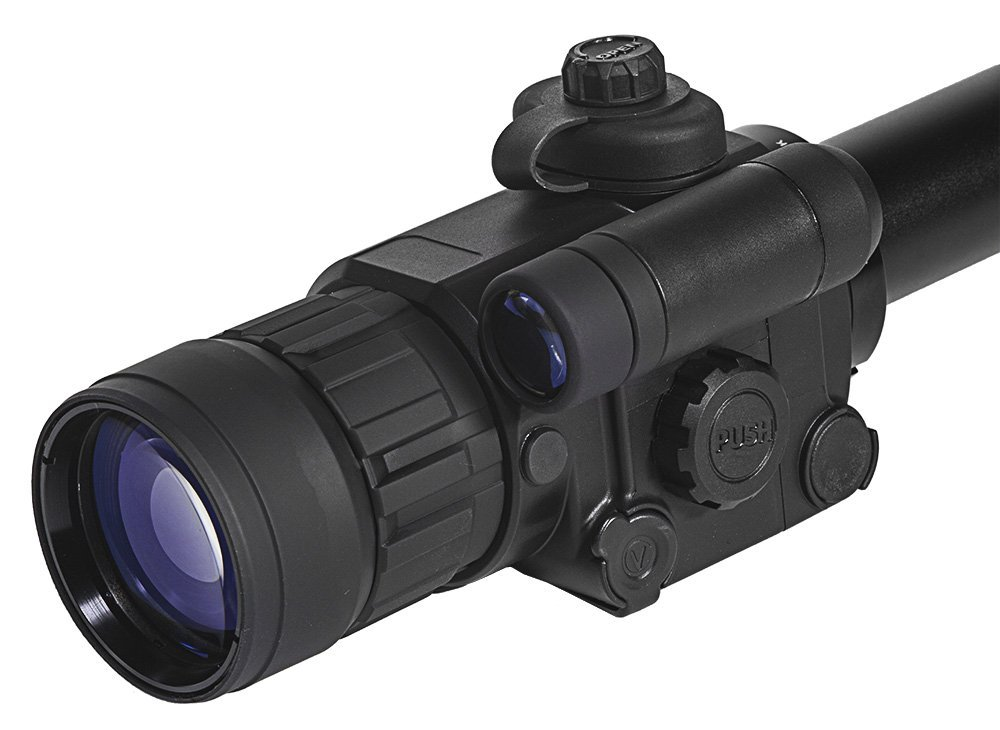 Sightmark Photon XT 4.6x42S Digital Night Vision Rifle Scope Close Up Front