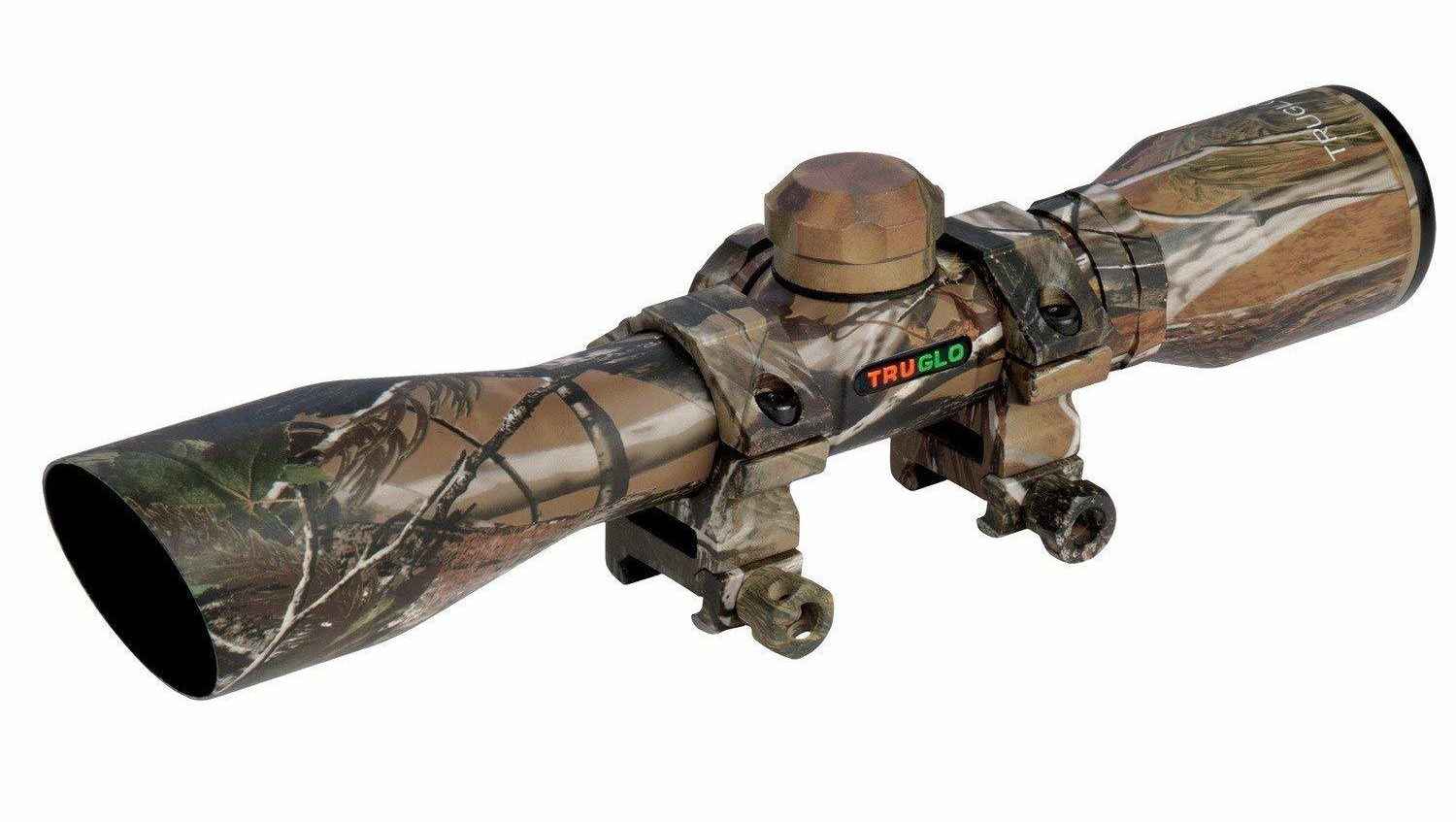 TRUGLO Crossbow Scope 4X32 with Rings APG | The Hunting Cave